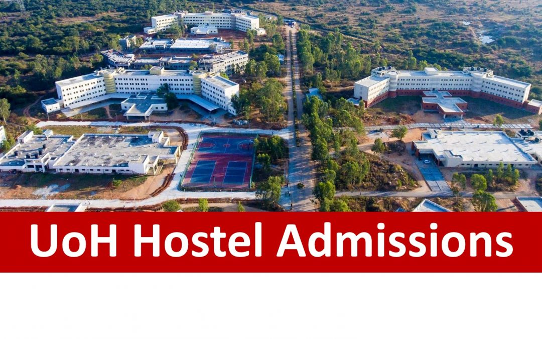 UoH Hostel Admission procedure for 2019-20
